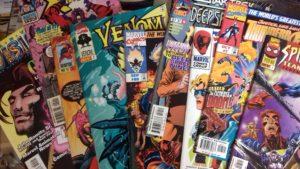 Les comics qu'on m'a offert chez Marvel