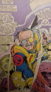 Stan Lee dans le comic Cable