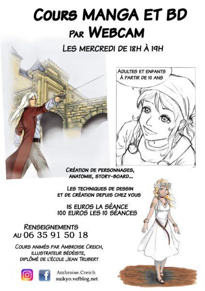 Cours-dessin-manga-BD-webcam-Ambroise-Creich