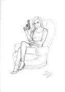 Portrait-stylisé-BD-dessin-crayon-commande
