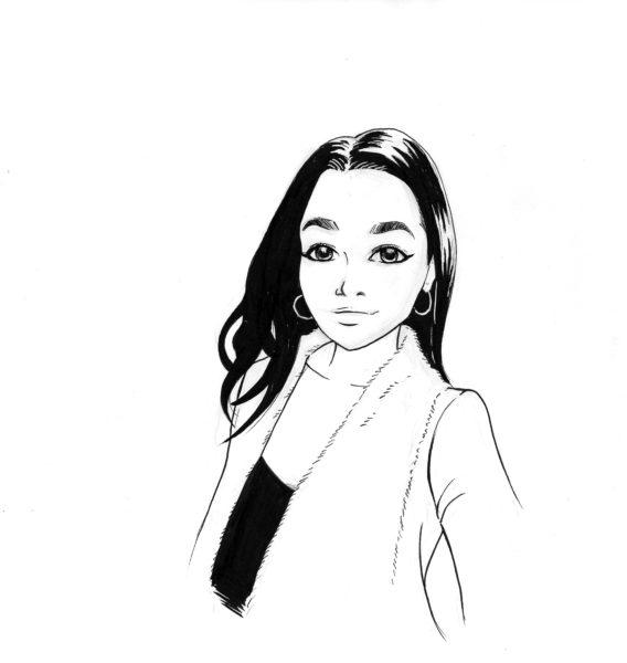 Portrait-manga-BD-dessin-encré-par Ambroise-Creich